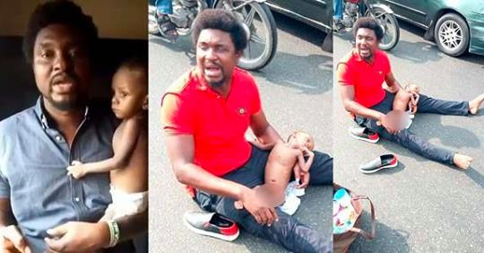 Father Of Baby With Multiple Holes In The Heart Denies Absconding With N70 Million