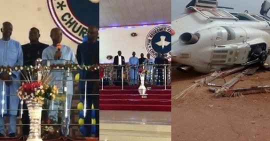 VIDEO: VP Osinbajo Testifies In Church After Surviving Helicopter Crash