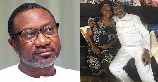 """Femi Otedola Spends Quality Time With His Mother, Admits He's Still A """"mummy's Boy"""""""