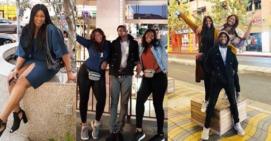 Actress, Omotola Is Having The Time Of Her Life In The U.S (Photos)