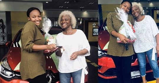 South African Lady Gets A Car Gift From Her Mother For Being A Good Daughter