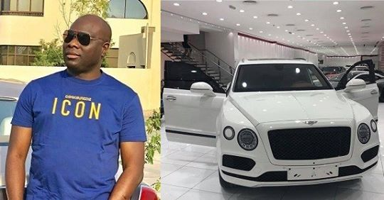 Mompha Buys His Own Bentley Bentayga After Hushpuppi Showed Off His