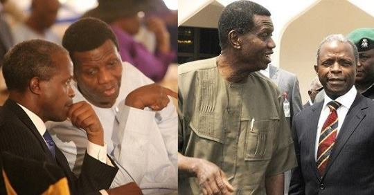 Osinbajo Reveals What Pastor Adeboye Told Him Before Presidential Election