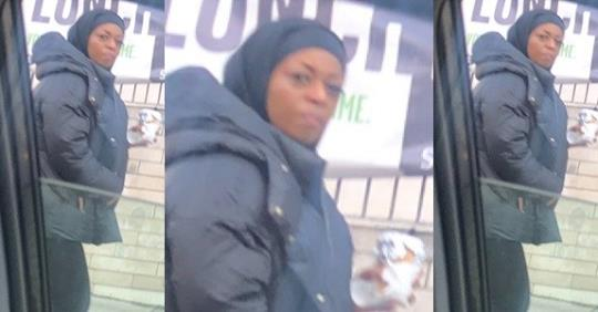 "Nigerian Man In UK Shares Photos Of ""Diezani"" Walking On The Streets In London"