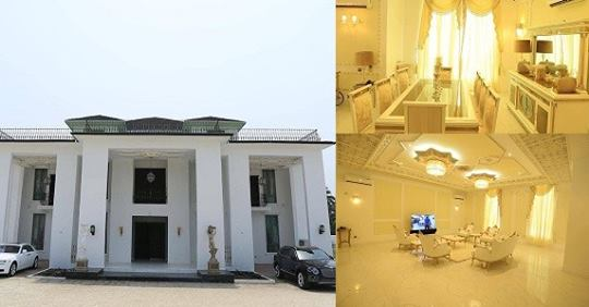 See Gigantic Mansion Deputy Speaker Of Delta State House Of Assembly, Ossai Osanebi, Just Erected In The State