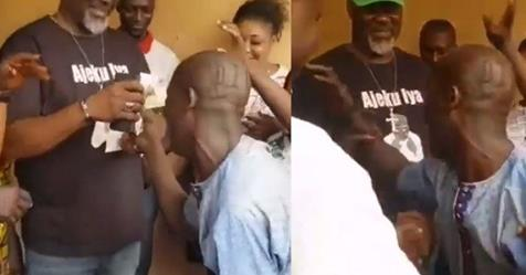 Dino Melaye Blesses Die-hard Supporter With N2,000 After He Was Crying To Meet Him (Video)