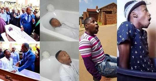 Internet Users Mock Pastor Who Claimed He Raised Man From The Dead (Photos)