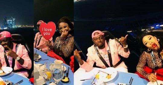 'I Love You' – Tonto Dikeh Flaunts Lover As She Goes On A Romantic Dinner With Him(Photos)