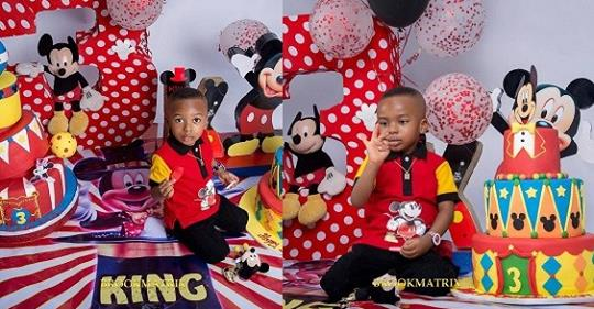 Tonto Dikeh Shares Lovely New Photos Of Her Son, King Andre, As He Turns 3 Today