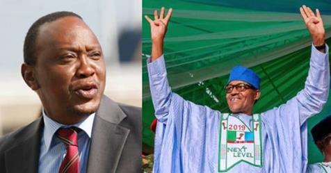 """Presidential Result: """"Your Victory Shows Nigerians Trust You"""" – Kenyan President Tells Buhari"""