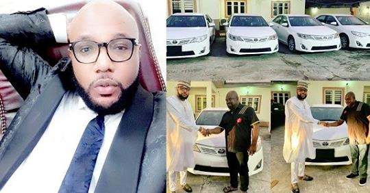E-Money Gives Out Brand New Toyota Cars As He Celebrates His Birthday (Photos)