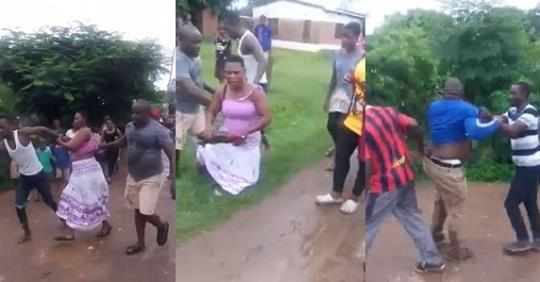 Husband Catches Cheating Wife And Lover After Trailing Her To Their Sex Spot (Video)