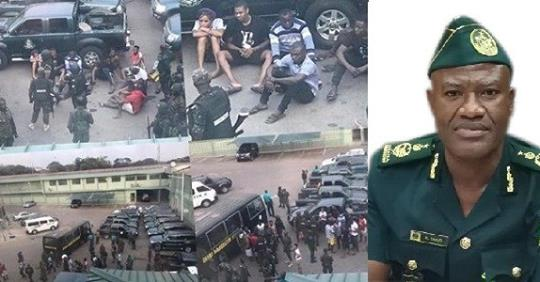 Ghana Immigration Arrests Nigerians Residing Illegally In The Country