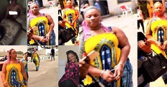 Lady Who Beat, Stripped Friend For Sleeping With Her Husband, Imprisoned