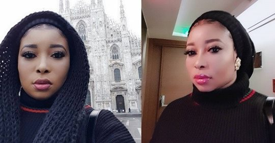 """""""Ogun Will Kill You And You Will Die Just Like My Mother"""" – Liz Anjorin Blasts Non Fan Who Accused Her Of Not Assisting Ailing Actor Baba Suwe"""