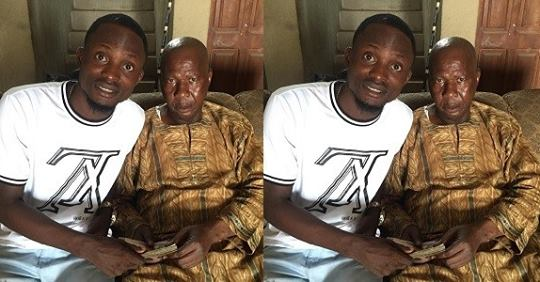 Writer, Tope Delano Drags Actor For Handing Money To Veteran Actor, Baba Suwe (photo)