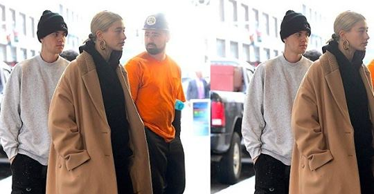 Justin Bieber And Hailey Baldwin Look 'unhappy' As They Step Out In NY After Postponing Wedding Ceremony (Photos)
