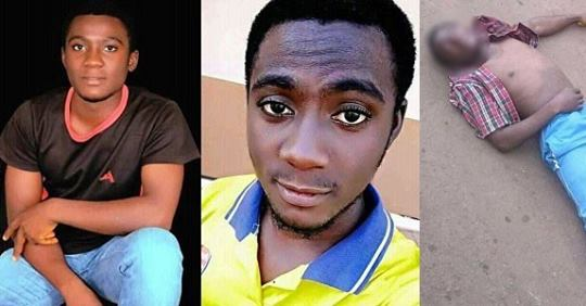 19 Year Old Boy Shot Dead While Voting In Kogi State.. (His Last Facebook Post)