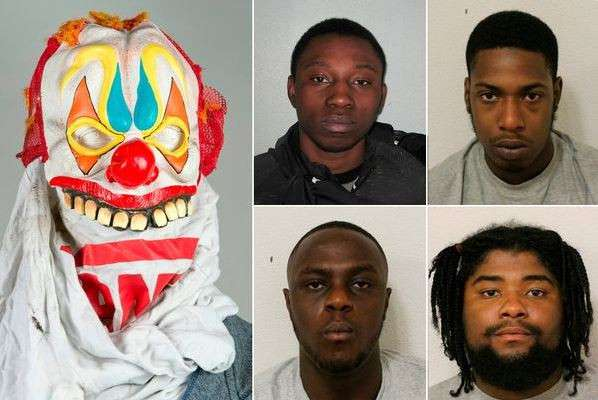 Nigerian Rapper, Lekan Akinsoji And His Gang Who Waved A Gun At Police During A Car Chase Jailed For 23 Years