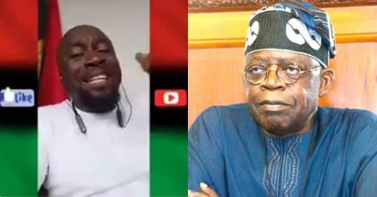 """""""This Yoruba Idiot It Is Too Much, Lagos Is Not Anybody's Property"""" – IPOB Member, Blasts, Tinubu (Video)"""