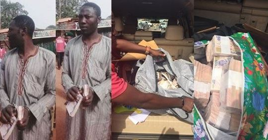 #NigeriaDecides2019 :Man Arrested For Vote Buying At A Polling Unit In Kwara
