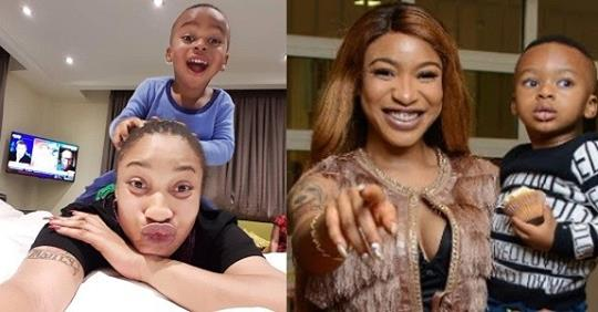Tonto Dikeh Defends Changing Her Son's Name