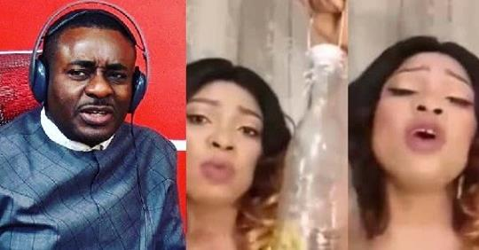 """Emeka Ike Reacts To Video Of Edo Woman Selling Bottle Where Married Women Can """"lock"""" Their Irresponsible Husbands"""
