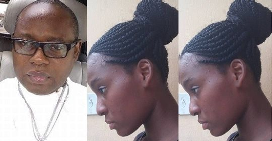 Nigerian Dad Vows To Fight To The End After His Daughter Is Forced To Loosen Her Braided Hair In University