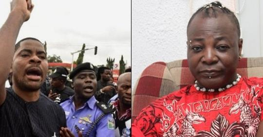 Charly Boy Betrayed Us And Compromised With Our Oppressor' – Deji Adeyanju Says, As He Resigns From 'Our Mumu Don Do' Coalition