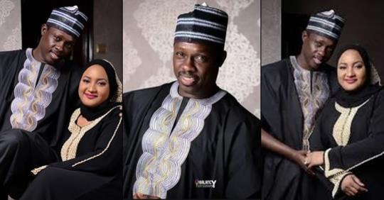 Actor Ali Nuhu Shares Love Up Photo To Celebrate 16th Wedding Anniversary With Wife