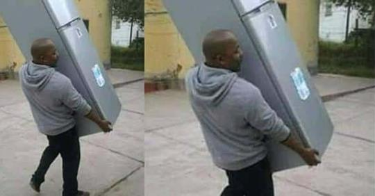 Man Takes Back Fridge He Bought For His Girlfriend
