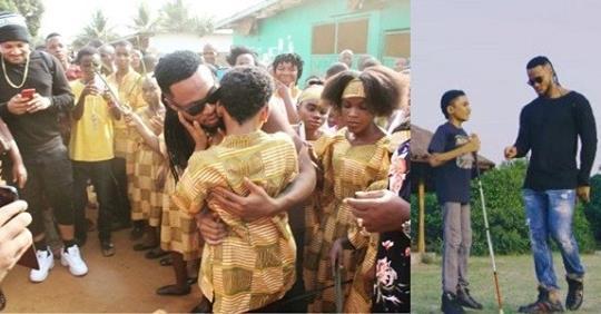 Flavour Opens School For The Blind In Liberia (photos)