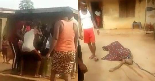 Man Ends Own His Life By Jumping Into A Well In Delta State (Photos)