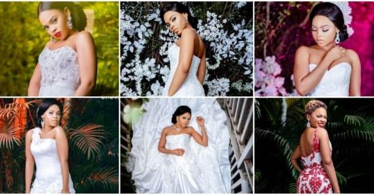 Ready To Walk Down The Aisle? Checkout These Breathtaking Photos Of Chidinma In Wedding Gowns