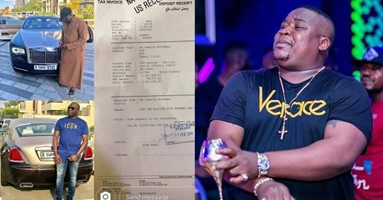 Cubana Chief Priest Reacts After Hushpuppi Shares Proof That Shows He Really Bought A Rolls Royce; Says The Receipts Is For Mompha's Rolls Royce