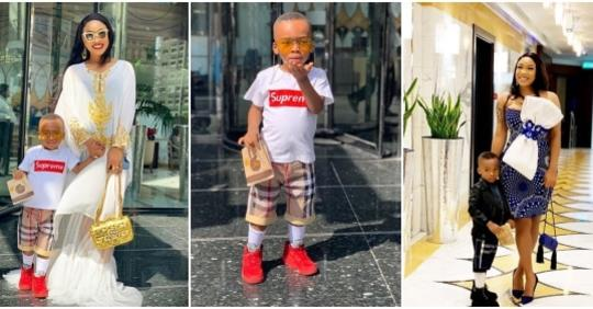 Tonto Dikeh Wins Full Custody Of Her Son, King Andre; Ex-husband Granted Conditional Visitation