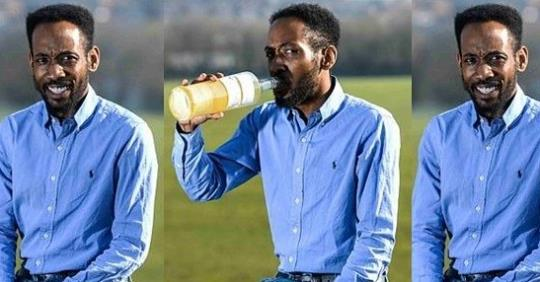 Man Reveals Why He Drinks His 30-day Old Urine Every Morning