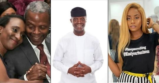 'I Love You My Yemi'- Vice President Osibanjo's Wife And Daughter Celebrates Him On His 62nd Birthday