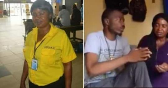 Nigerians Donate Over N1.4m To Airport Cleaner Who Lamented After Returning Misplaced Millions (Video)