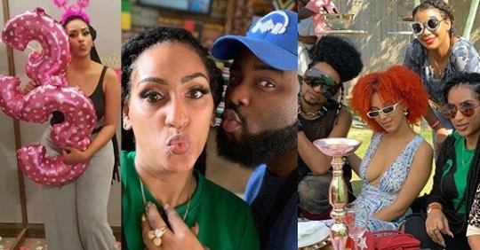 Photos From Juliet Ibrahim 33rd Birthday Party In South Africa
