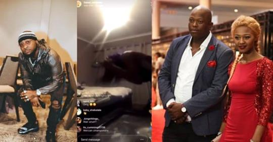 Davido Reacts To Viral Video S.African Singer, Babes Wodumo Being Assaulted By Boyfriend