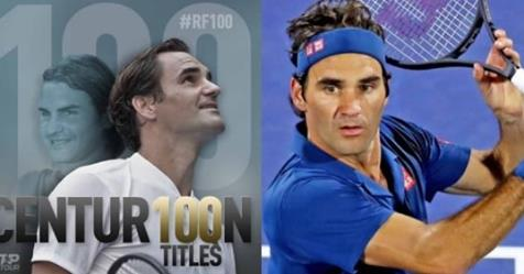 Roger Federer Wins 100th ATP Title, Second Man To Reach Milestone