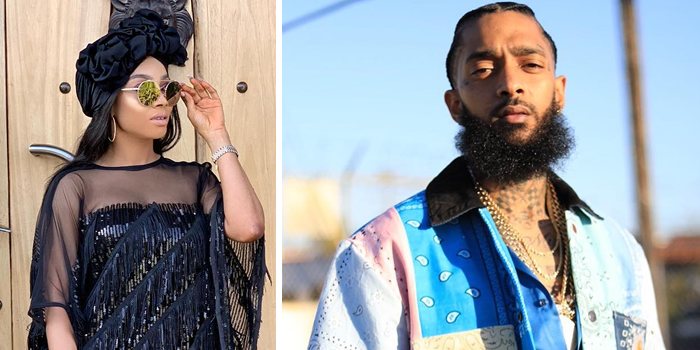 Media Personality Toke Makinwa Blasted On Social Media Yesterday For Posting About US Rapper Nipsey Hussle, While Ignoring Kolade Johnson, Who Was Killed By SARS Operatives On Sunday In Lagos.