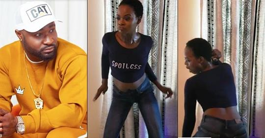 Harrysong Gifts Olajumoke N400,000 For Dancing To 'Chacha' His Latest Song (Video)