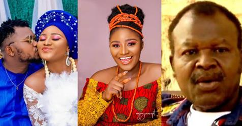 Actor Pete Eneh's Last Daughter, Ijeoma Eneh Marries Her Heartthrob In Enugu State