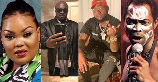 Fela's Daughter Cautions Man Who Said Davido Is A Better Singer Than Her Father
