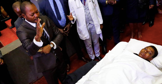 """""""Resurrection"""" Pastor Continues With His Controversial Miracles During Church Service. Photos"""