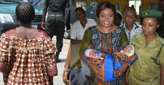 Prison Inmate Who Gave Birth To Twins In Calabar Is Reportedly Dead. Photos