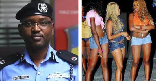 Pr0-stitution Is A Crime In Nigeria And A Sin Against The 2 Main Religions – ACP Abayomi Shogunle Says