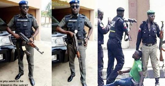 Those Clamouring For The End Of SARS Are Criminals – Nigerian Policeman, Says